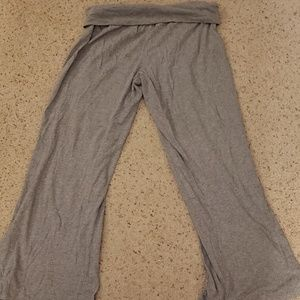 Old Navy plain grey palazzo pants, M.